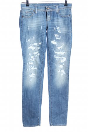 United Colors of Benetton Skinny Jeans blau Casual-Look