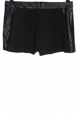United Colors of Benetton Skorts zwart casual uitstraling