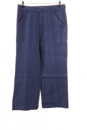 United Colors of Benetton Stoffhose blau Casual-Look
