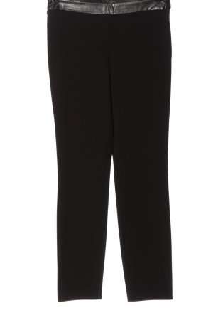 United Colors of Benetton Stoffhose schwarz Casual-Look