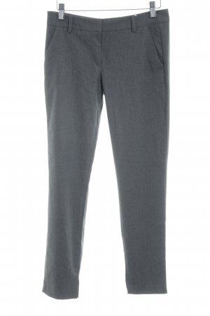 United Colors of Benetton Stoffhose grau-dunkelgrau meliert Business-Look