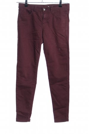 United Colors of Benetton Stretch jeans rood casual uitstraling