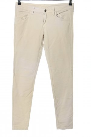 United Colors of Benetton Stretchhose creme Casual-Look