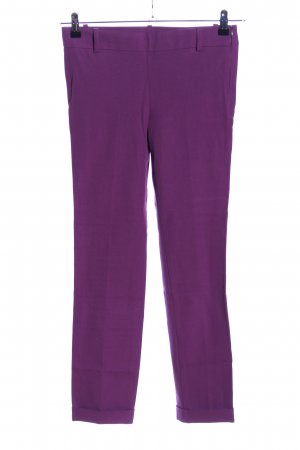United Colors of Benetton Stretchhose lila Casual-Look