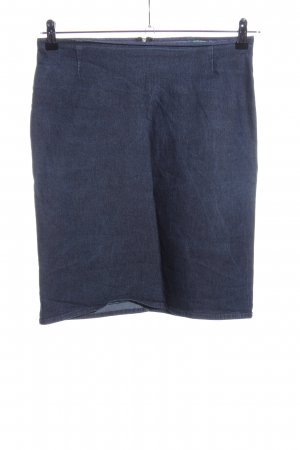 United Colors of Benetton Stretchrock blau Casual-Look