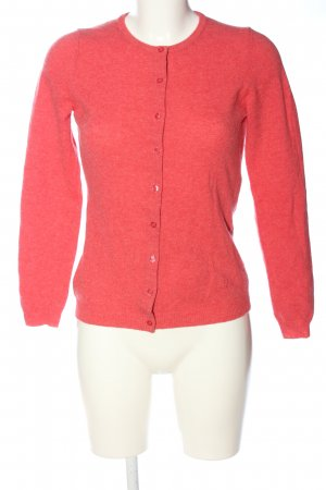 United Colors of Benetton Strick Cardigan pink meliert Casual-Look