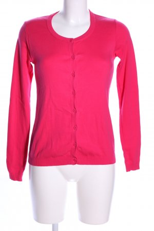 United Colors of Benetton Strick Cardigan pink Casual-Look