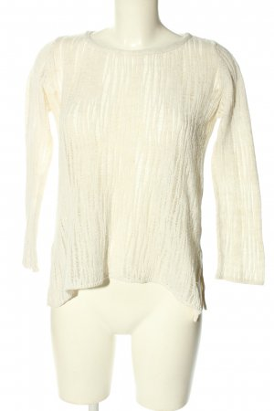 United Colors of Benetton Strickpullover weiß Casual-Look