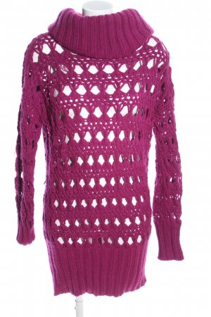 United Colors of Benetton Strickpullover pink extravaganter Stil