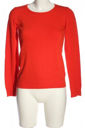 United Colors of Benetton Strickpullover hellorange Casual-Look