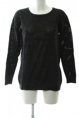 United Colors of Benetton Strickpullover meliert Casual-Look