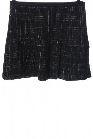 United Colors of Benetton Knitted Skirt black-white allover print casual look