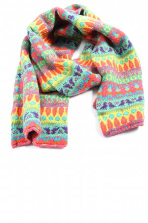 United Colors of Benetton Strickschal Allover-Druck Casual-Look