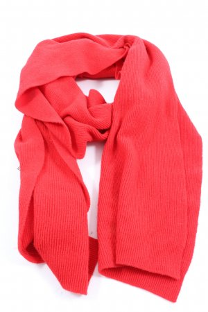 United Colors of Benetton Strickschal rot Casual-Look