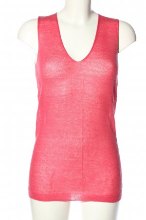 United Colors of Benetton Stricktop pink meliert Casual-Look