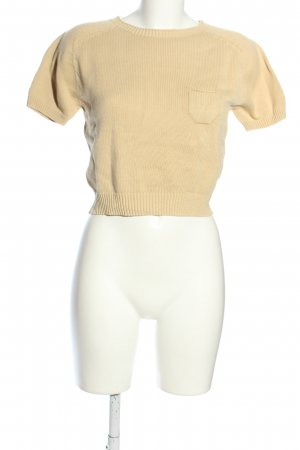 United Colors of Benetton Stricktop wollweiß Casual-Look