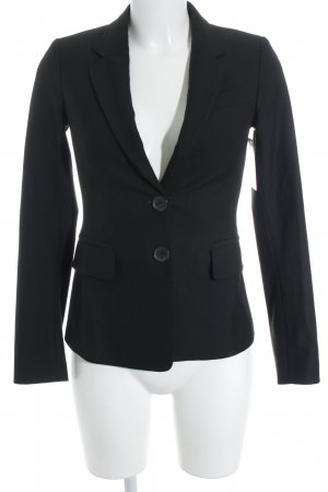 United Colors of Benetton Sweatblazer schwarz Business-Look