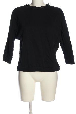United Colors of Benetton Sweatshirt schwarz Casual-Look