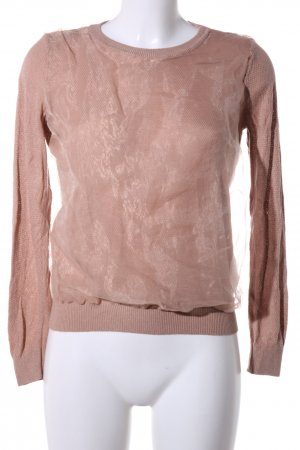 United Colors of Benetton Sweatshirt creme Casual-Look