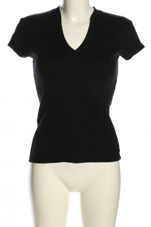 United Colors of Benetton T-Shirt schwarz Casual-Look
