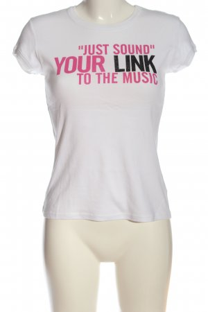 United Colors of Benetton T-Shirt Schriftzug gedruckt Casual-Look