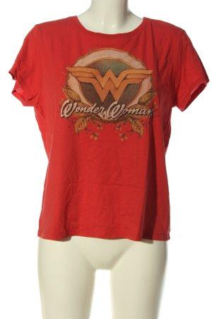 United Colors of Benetton T-Shirt rot Motivdruck Elegant