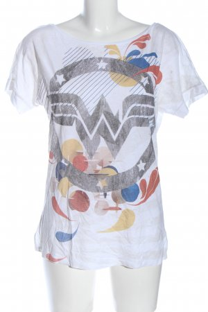 United Colors of Benetton T-Shirt abstraktes Muster Casual-Look