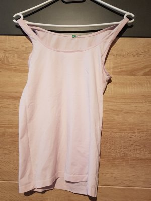 United Colors of Benetton Top basic rosa chiaro