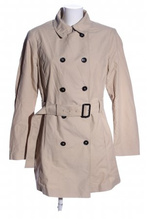 United Colors of Benetton Trenchcoat wollweiß Business-Look
