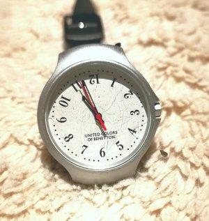 United Colors of Benetton Analoog horloge wit-zwart