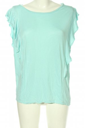 United Colors of Benetton Volanttop türkis Casual-Look