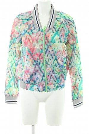 United Colors of Benetton Wendejacke abstraktes Muster Casual-Look