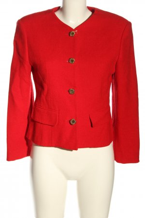 United Colors of Benetton Woll-Blazer rot Elegant