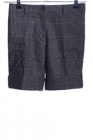 United Colors of Benetton Wollhose schwarz-braun Karomuster Casual-Look