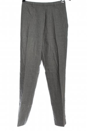 United Colors of Benetton Wollhose hellgrau meliert Business-Look