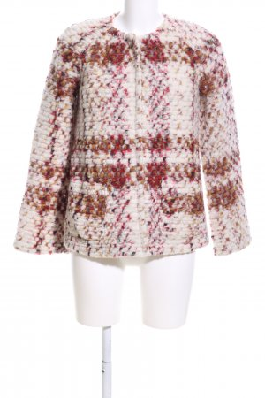 United Colors of Benetton Wolljacke Allover-Druck Casual-Look