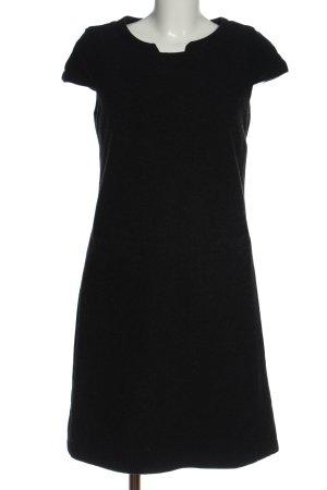 United Colors of Benetton Vestido de lana negro estilo «business»