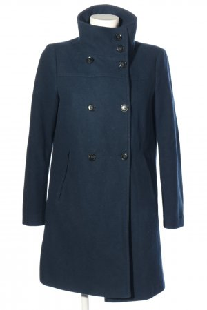United Colors of Benetton Manteau en laine bleu style décontracté
