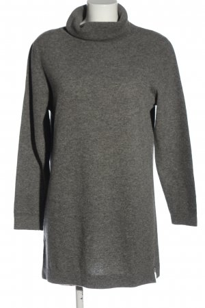 United Colors of Benetton Wollpullover hellgrau meliert Casual-Look