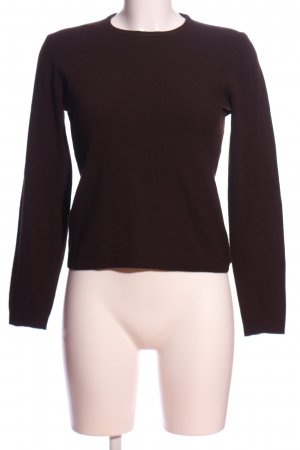 United Colors of Benetton Wollpullover braun Casual-Look