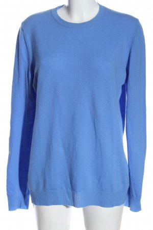United Colors of Benetton Wollpullover blau Casual-Look