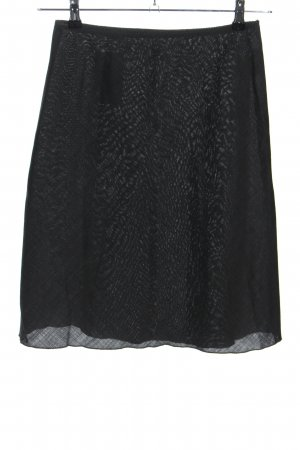 United Colors of Benetton Wollrock schwarz Casual-Look