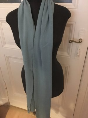 United Colors of Benetton Bufanda de lana azul celeste