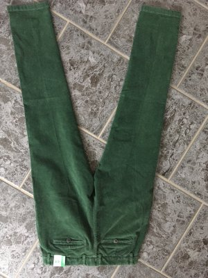 Benetton Corduroy Trousers forest green