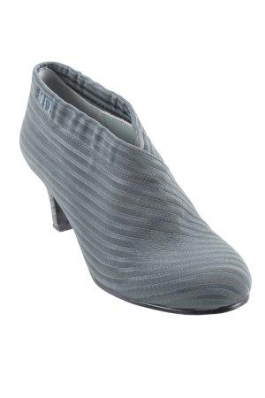 United nude Ankle Boots dunkelgrün Streifenmuster extravaganter Stil