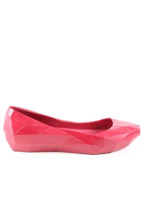 United nude Lakleren ballerina's rood extravagante stijl