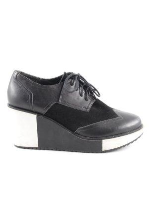 United nude Schnürschuhe schwarz-weiß extravaganter Stil