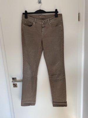 Closed Jeansy z prostymi nogawkami beżowy