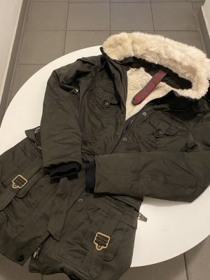 united uniforms Parka olijfgroen-khaki