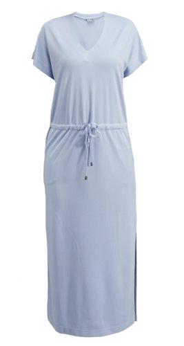 B.young Vestido largo azul celeste modal